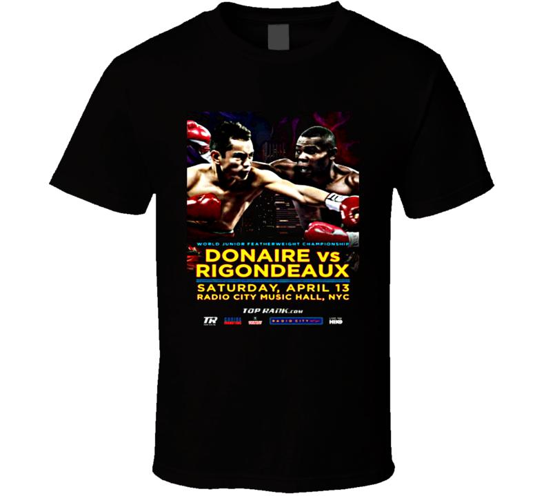 Nonito Donaire Vs Guillermo Rigondeaux April 13 Boxing Poster Tshirt