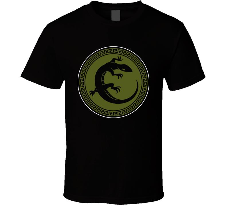 Enders Game Salamander Army Logo T Shirt