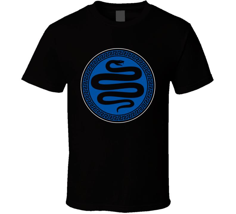Enders Game Asp Army Logo T Shirt
