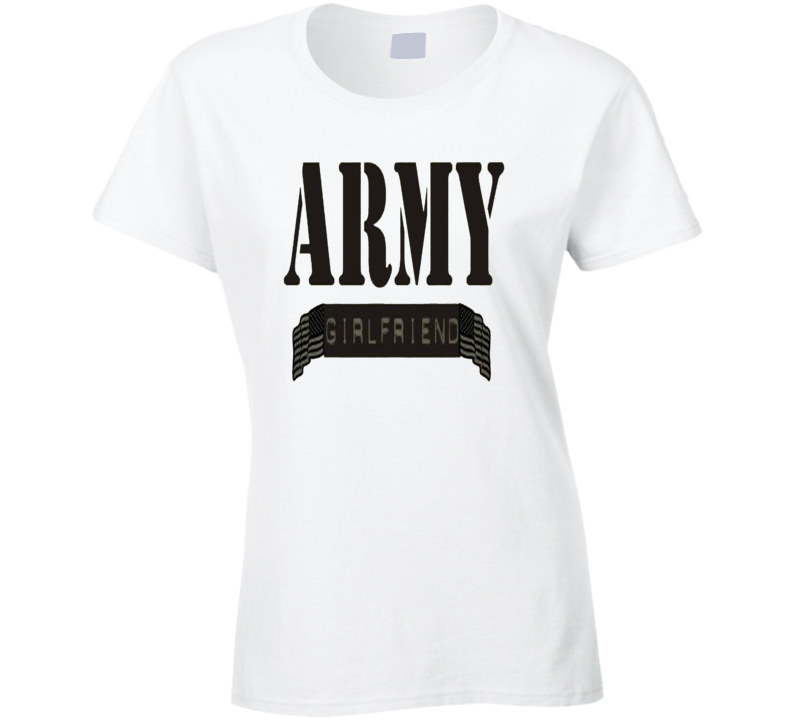 Army Girlfriend USA T Shirt