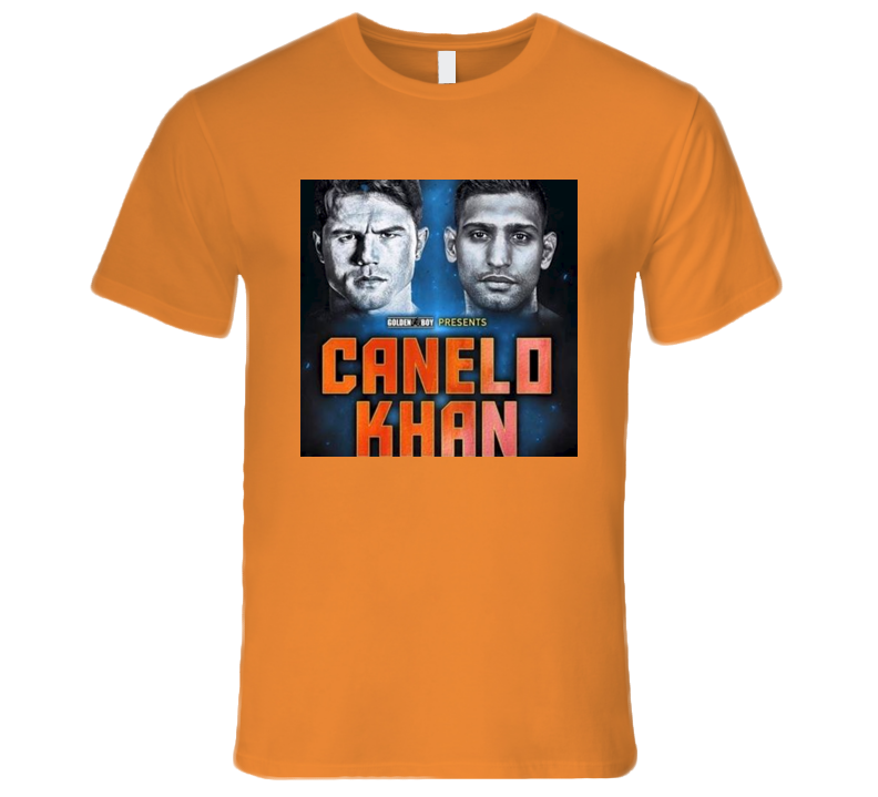 Canelo Alvarez vs Amir Khan May 7th Boxing T Shirt