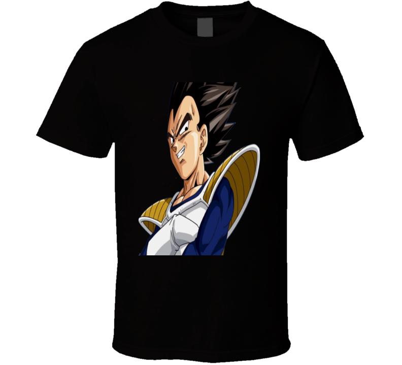 Dragon Ball Z Vegeta   T Shirt