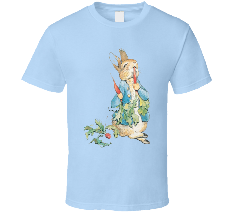 Peter Rabbit Cartoon  T Shirt