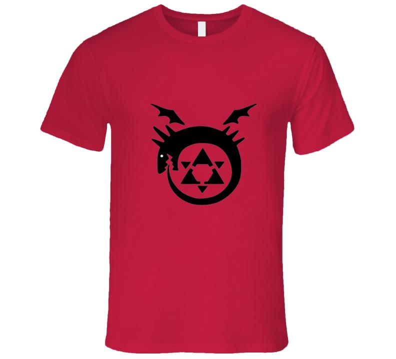 Full Metal Alchemist Symbol 2 Anime T Shirt