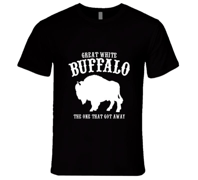 Hot Tub Time Machine Great White Buffalo Movie T Shirt