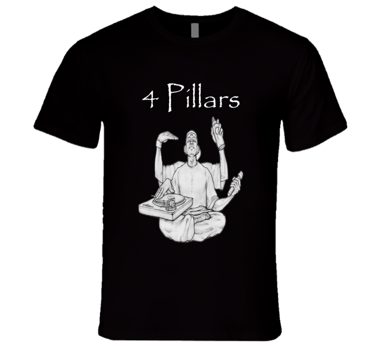 4 Pillars of Hip Hop T Shirt