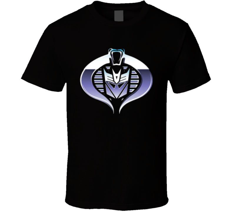 Gi Joe Cobra Decepticon  T Shirt