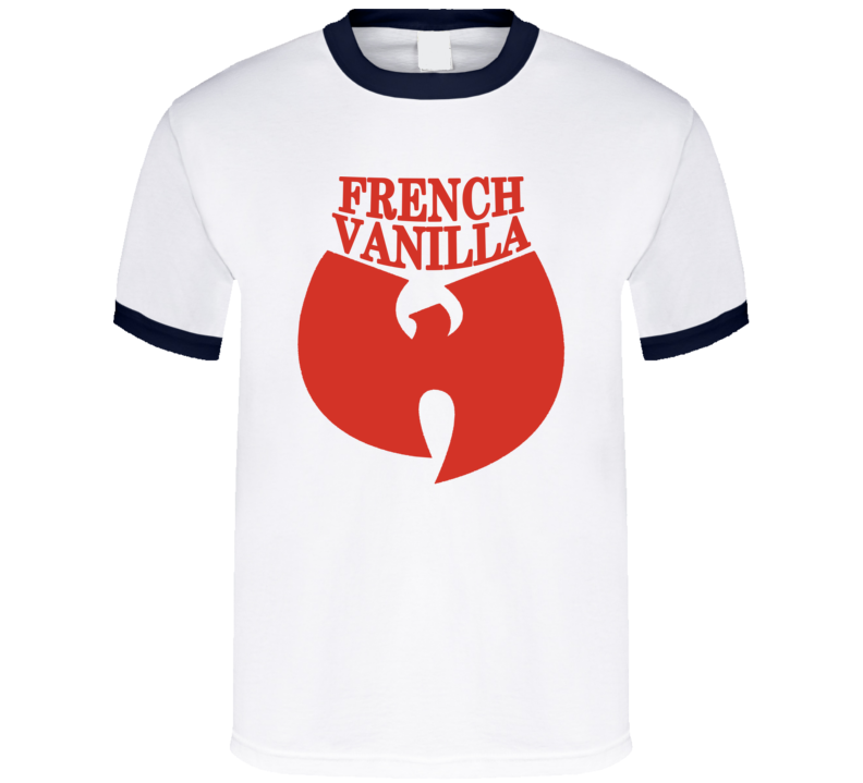 Wutang French Vanilla Hip Hop Music Red Ice Cream T Shirt