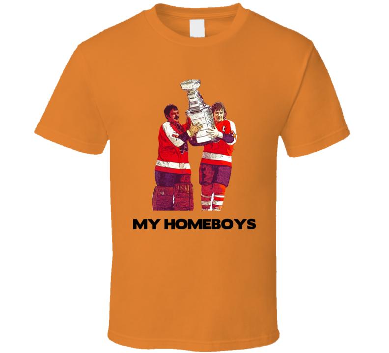 Philadelphia Bernie Parent Bobby Clarke T Shirt