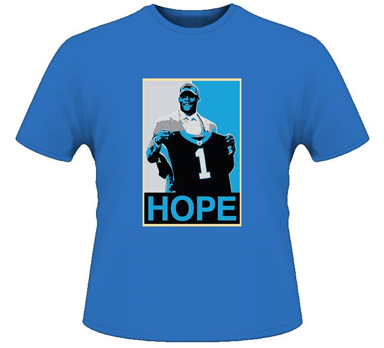 Carolina Cam Newton Hope T Shirt