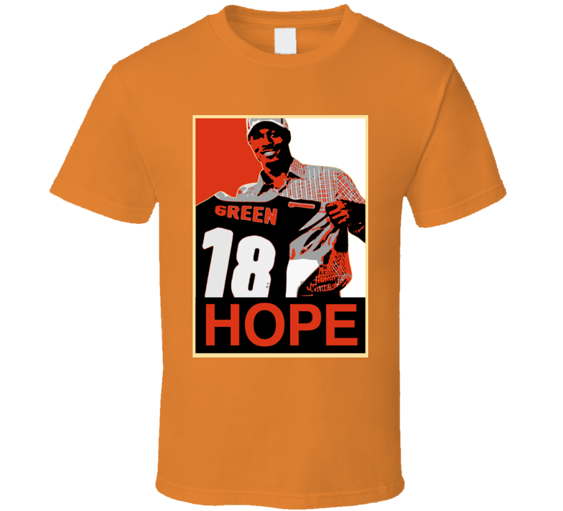 Cincinnati Aj Green Hope T Shirt
