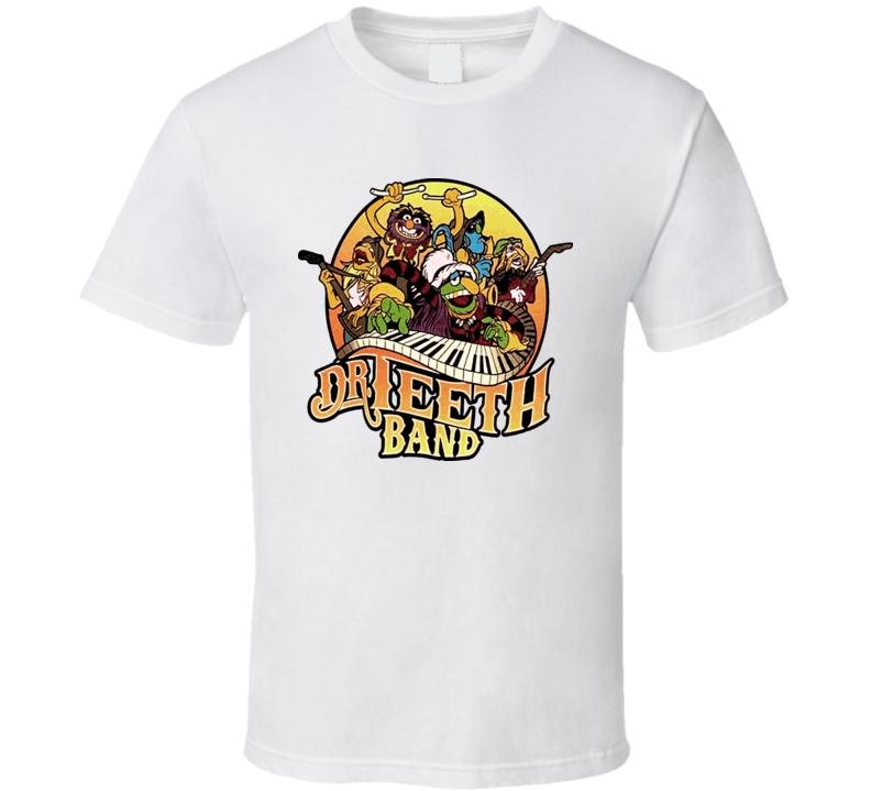 Muppets - Dr Teeth Band T Shirt