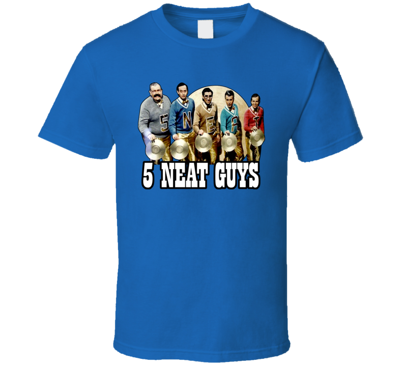 5 Neat Guys Sctv Candy Levy Moranis T Shirt