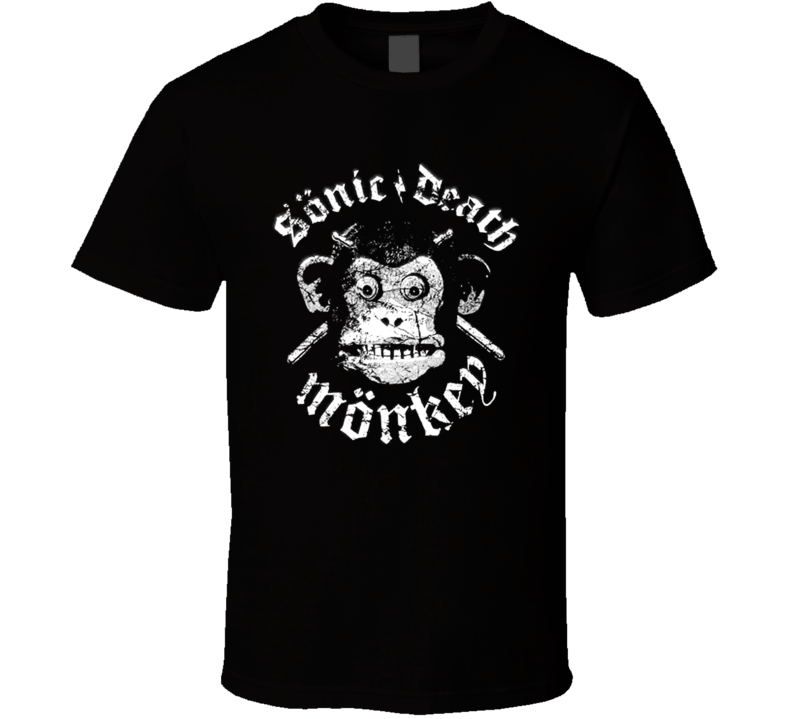 Sonic Death Monkey Kathleen Turner Overdrive T Shirt
