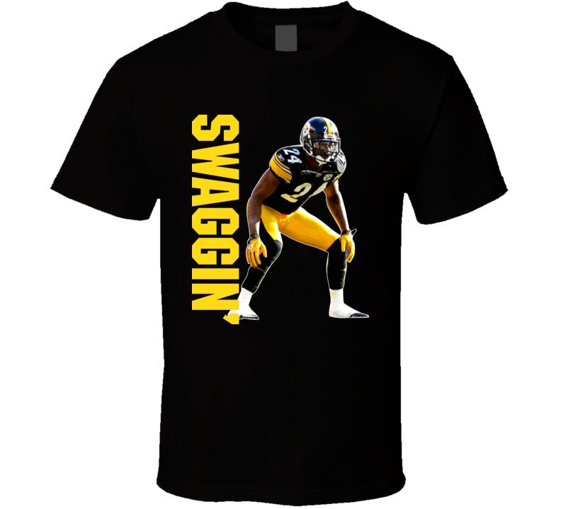 Pittsburgh Ike Taylor Swaggin Football T Shirt