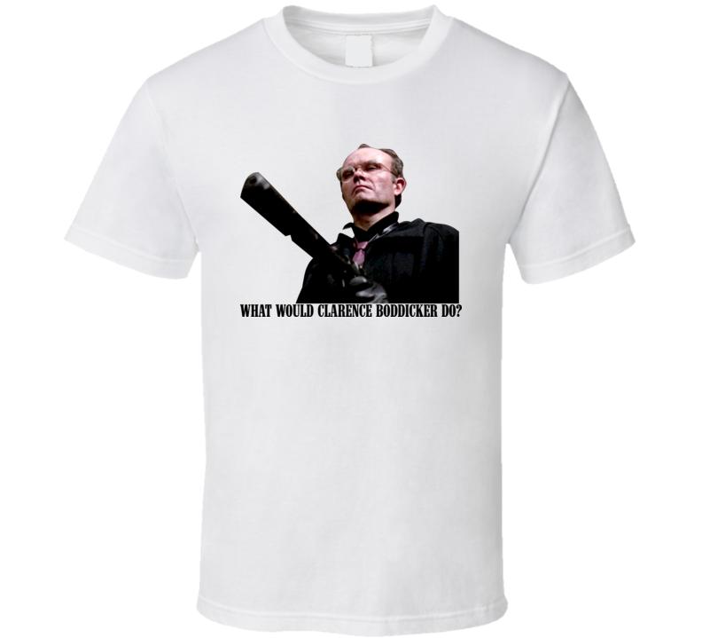 What Would Clarence Boddicker Do Robocop T Shirt