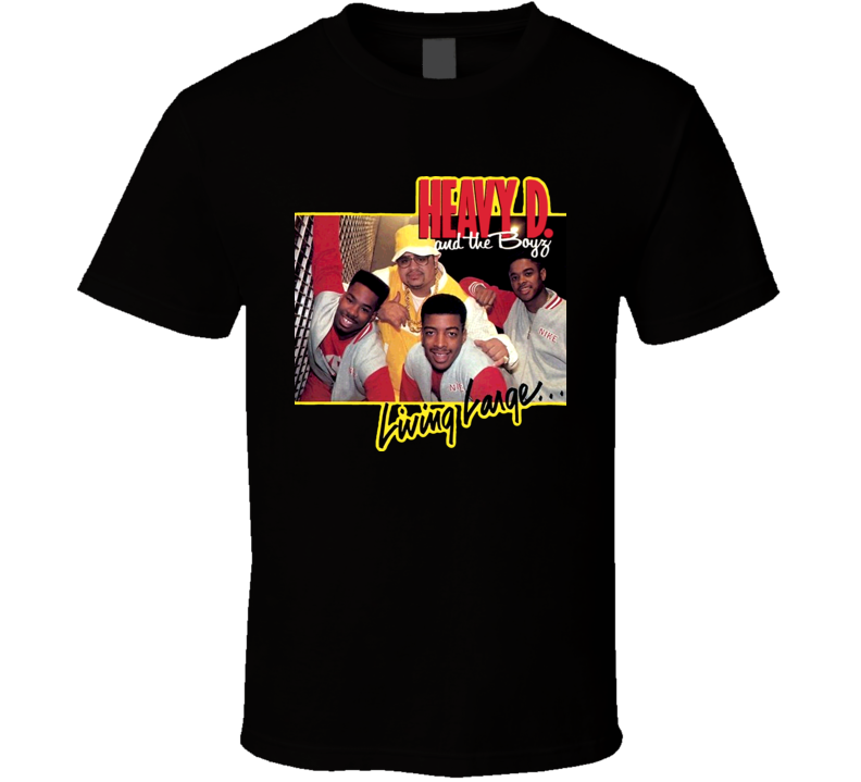 Heavy D And The Boyz T Shirt
