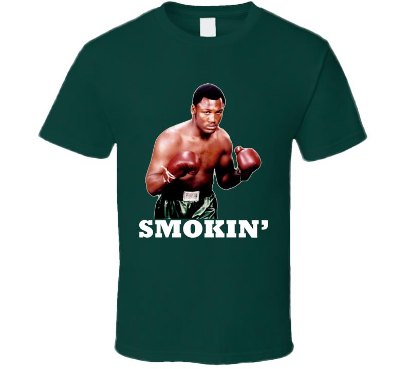 Boxing Joe Frazier T Shirt
