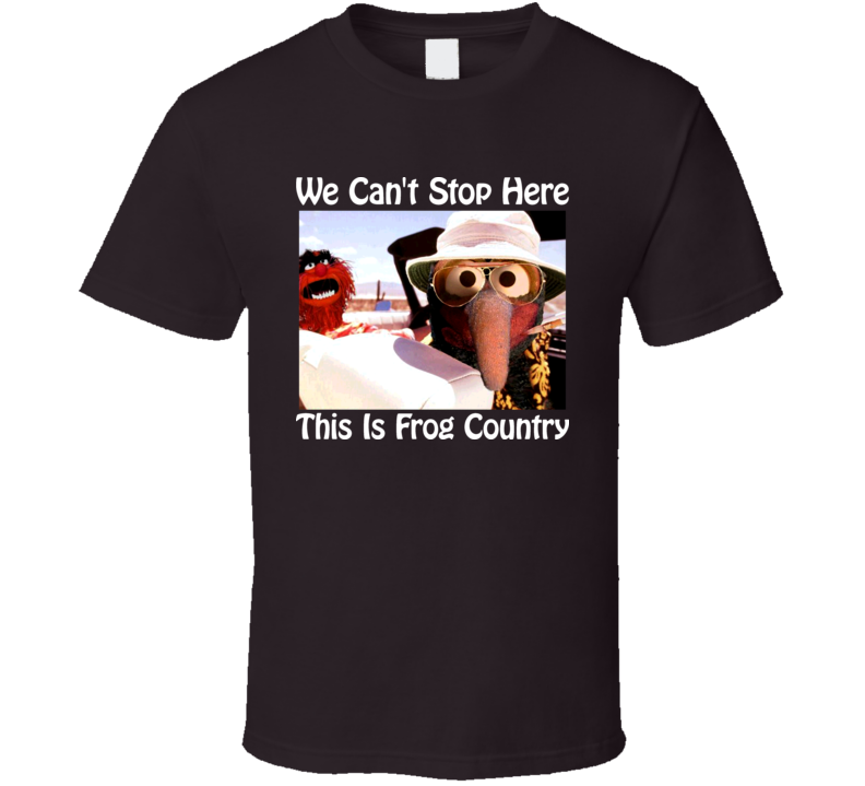 Muppets Fear And Loathing In Las Vegas Parody T Shirt