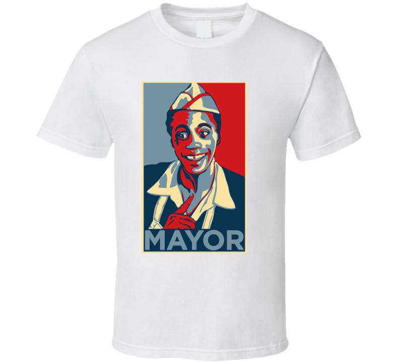Mayor Goldie Wilson Hope T Shirt