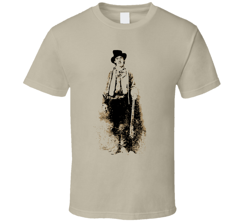 Billy The Kid T Shirt
