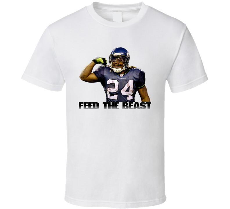 Marshawn Lynch Feed The Beast T Shirt