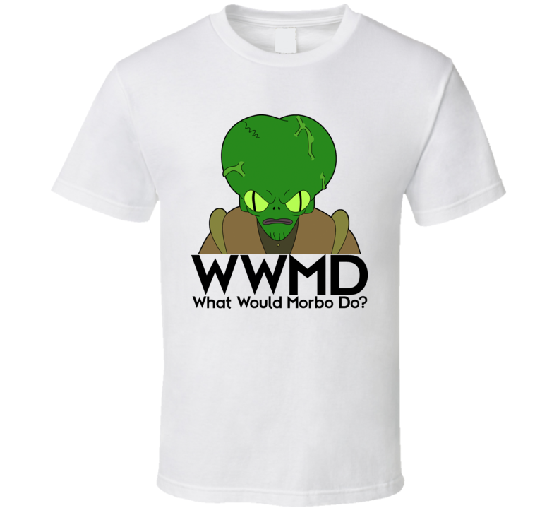 Futurama Morbo What Would Morbo Do T Shirt