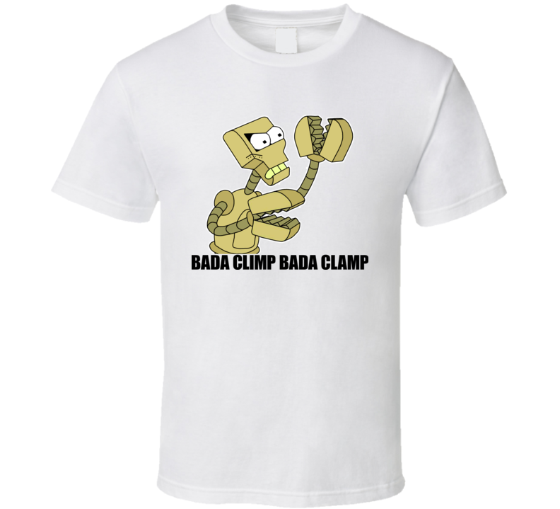 Futurama Clamps Bada Climp T Shirt