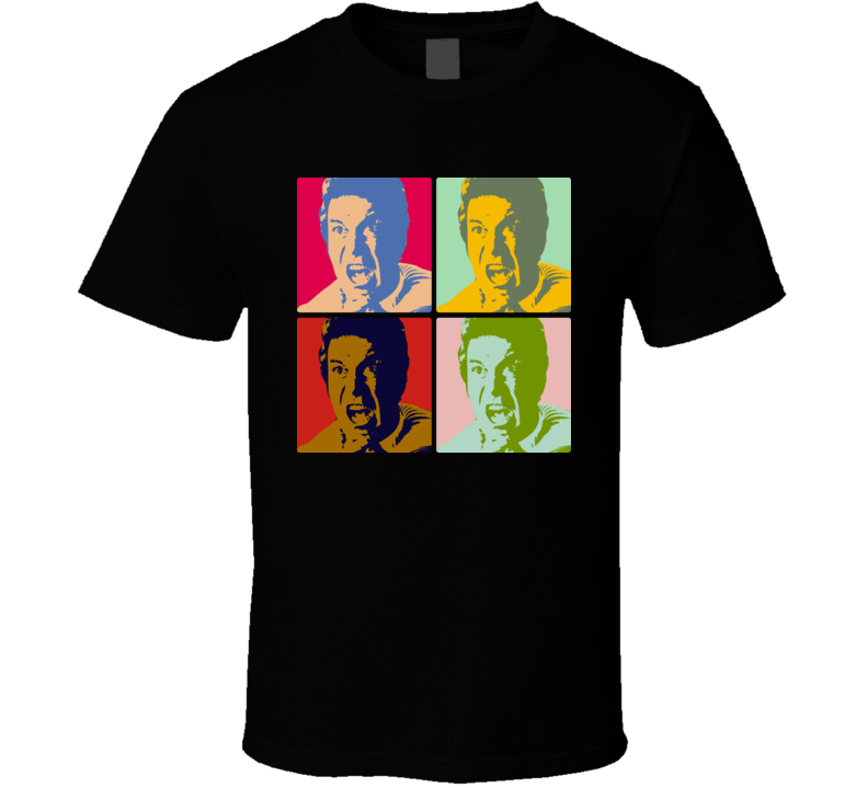 Star Trek Captain Kirk Warhol T Shirt