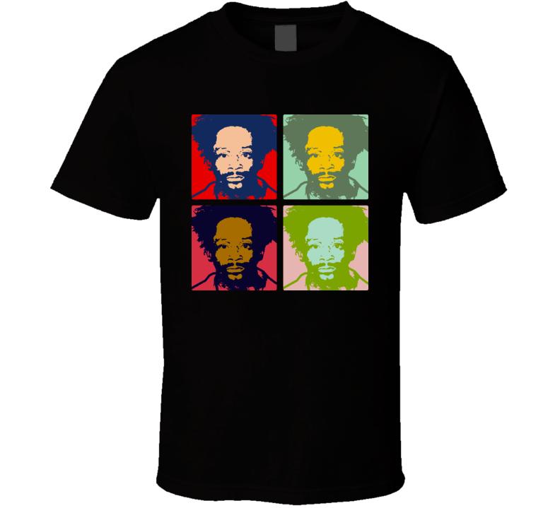 Celebrity Mug Shot Katt Williams Warhol T Shirt