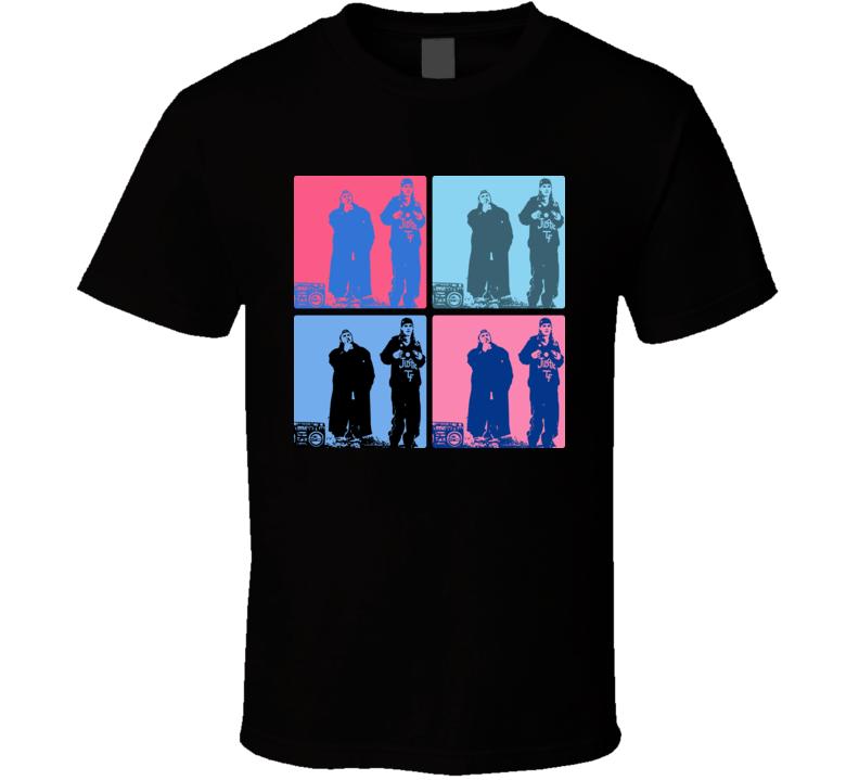Jay And Silent Bob Warhol T Shirt