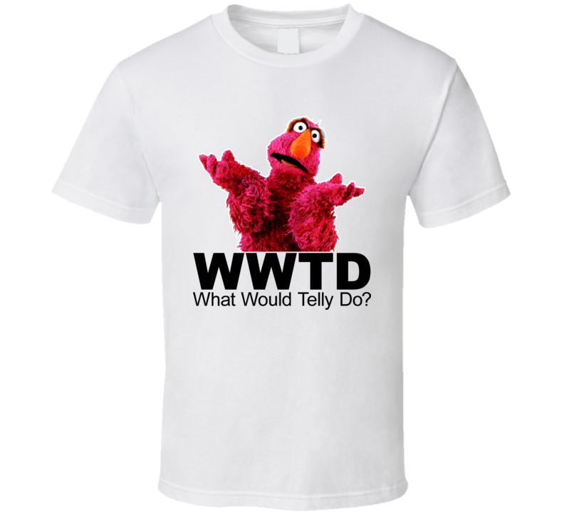 Sesame Street What Would Would Telly Do T Shirt