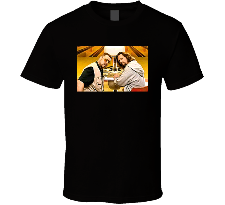 The Big Lebowski Movie Black T Shirt