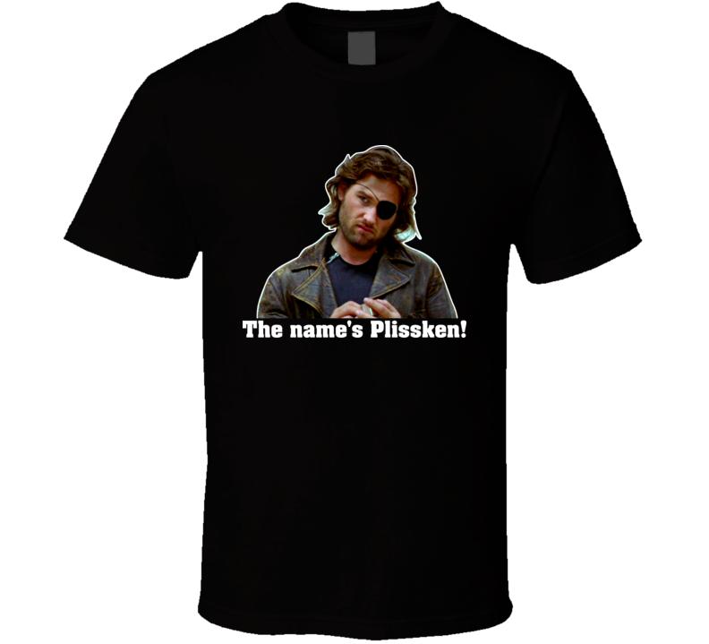Escape From New York Snake Plissken The Names Plissken T Shirt