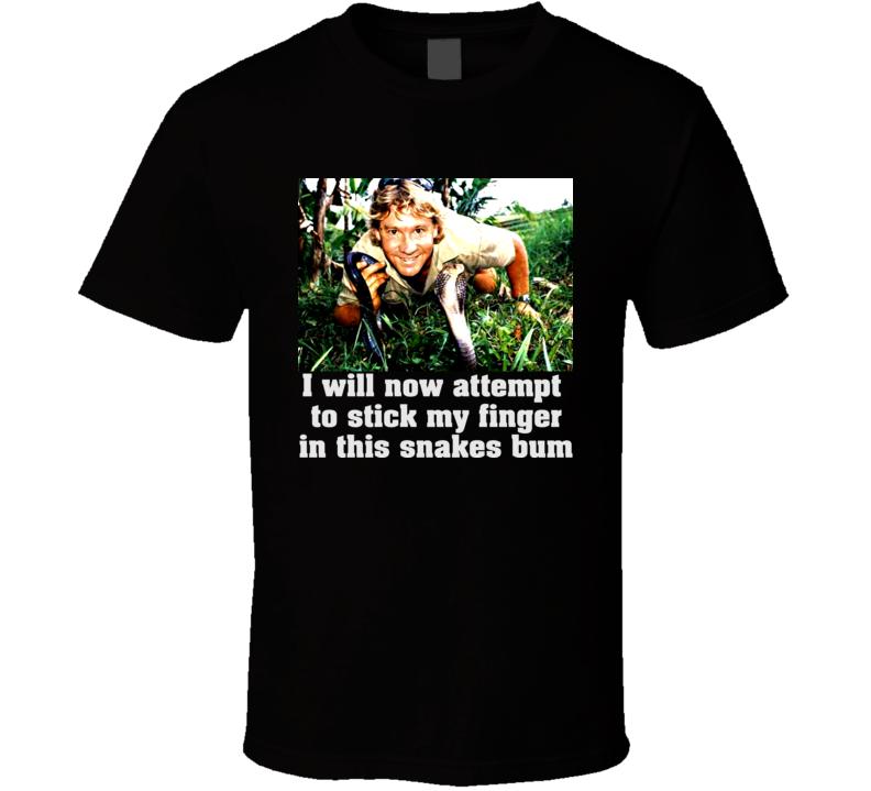 Funny Steve Irwin T Shirt