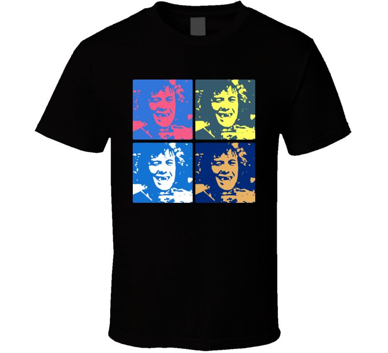 Philadelphia Hockey Team Bobby Clarke Wink Warhol T Shirt