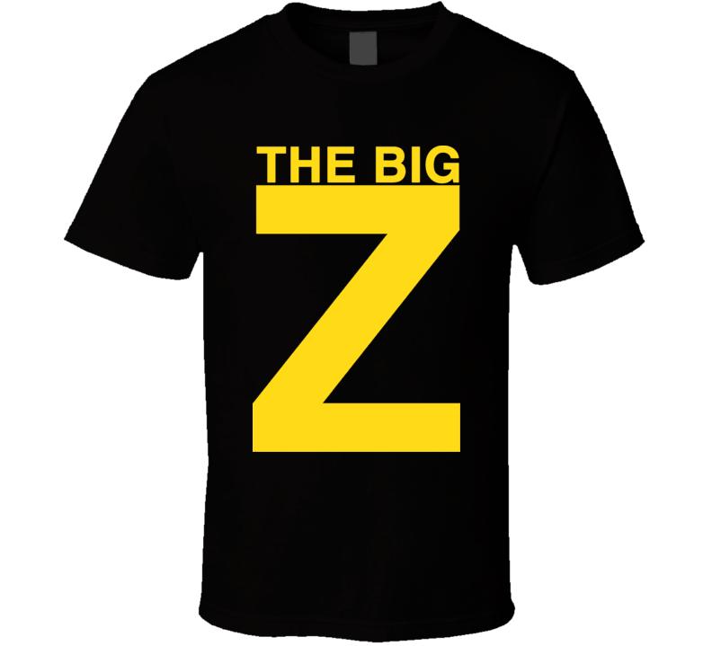 Zdeno Chara The Big Z Boston Hockey T Shirt