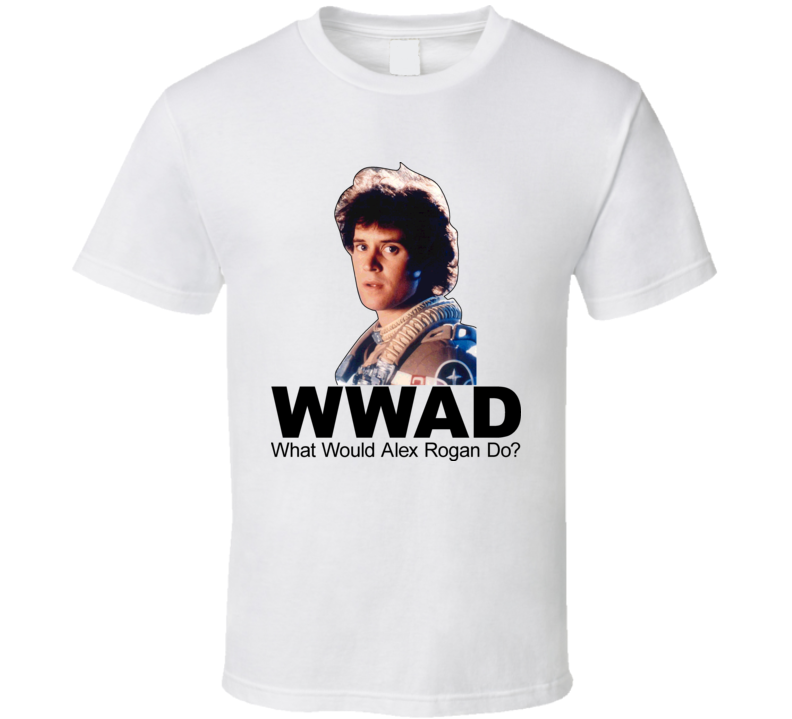 The Last Starfighter Movie What Would Alex Rogan Do Tshirt