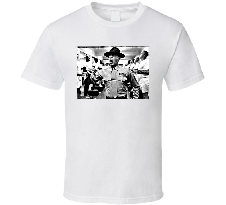 Full Metal Jacket Movie Sgt Hartman T Shirt