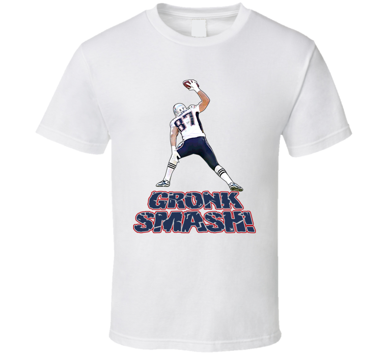 Rob Gronkowski New England Footbal T Shirt