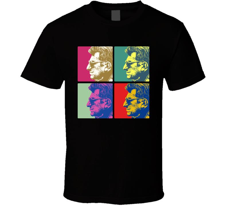 Joe Paterno Penn St Football Warhol T Shirt
