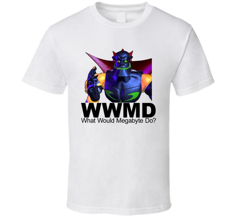 Reboot Cartoon What Would Megabyte Do Tshirt
