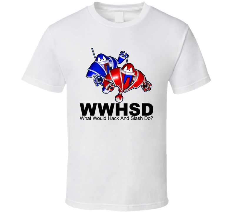 Reboot Cartoon What Would Hack And Slash Do T Shirt
