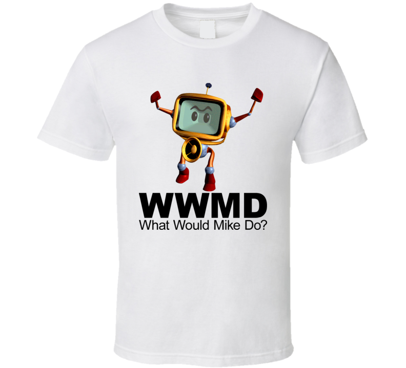 Reboot Cartoon What Would Mike Do T Shirt