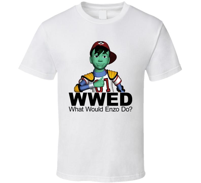Reboot Cartoon What Would Enzo Do T Shirt