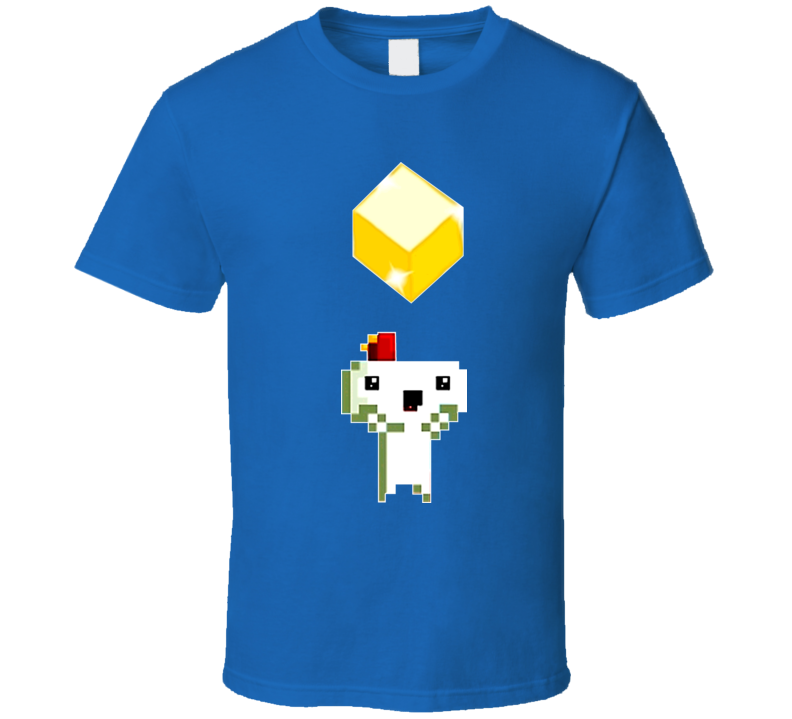 Fez Video Game Gold Box T Shirt