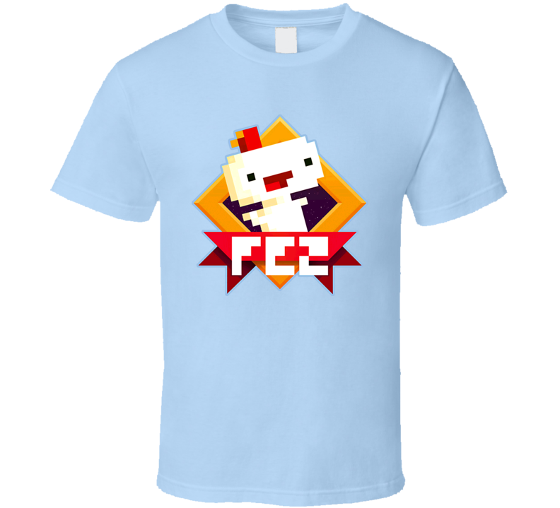 Fez Video Game Gomez Happy T Shirt