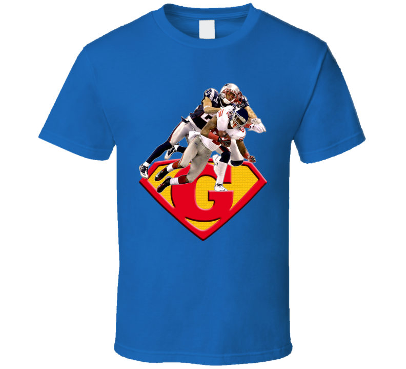 Mario Manningham Superman T Shirt