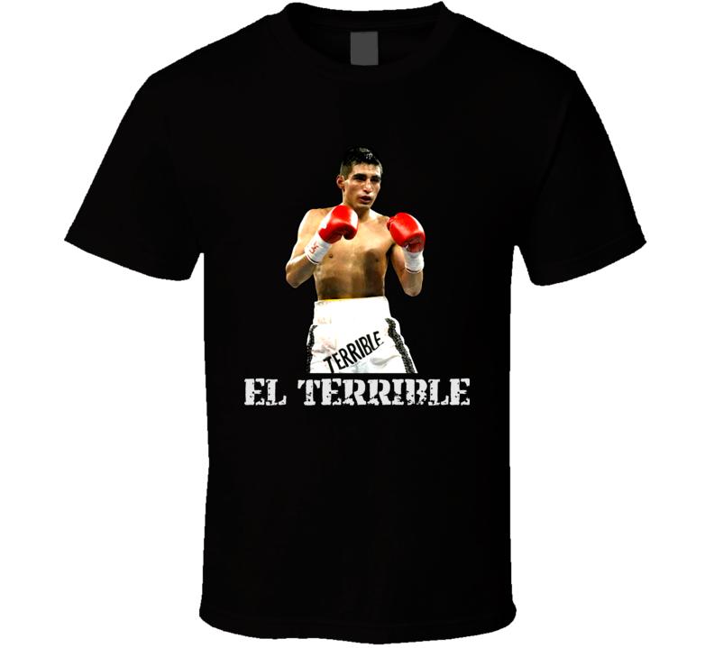 Erik Morales El Terrible Mexican Boxing Legend T Shirt
