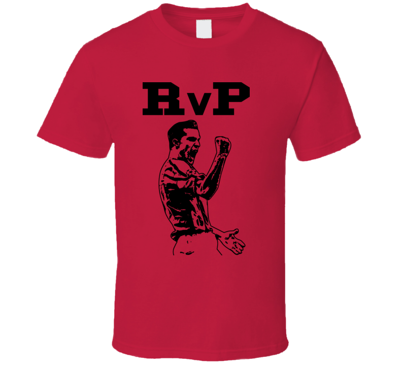 Robin Van Persie Rvp Arsenal Soccer T Shirt